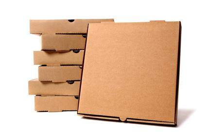 CAJA PIZZA GRANDE MICRO MARRON x50