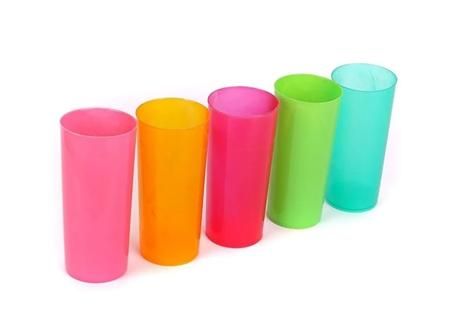 VASO TRAGO LARGO PP COLOR x10